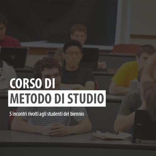 Corso di Metodo di studio